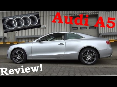 Audi A5 Coupe 27 TDI 2007  Das schnste Coupe  Review  Test