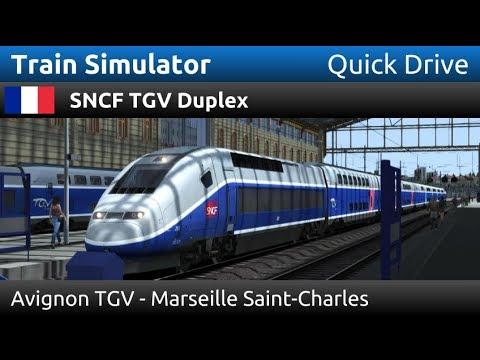 Train Simulator: SNCF TGV Duplex: Avignon TGV - Marseille Saint-Charles (Quick Drive)