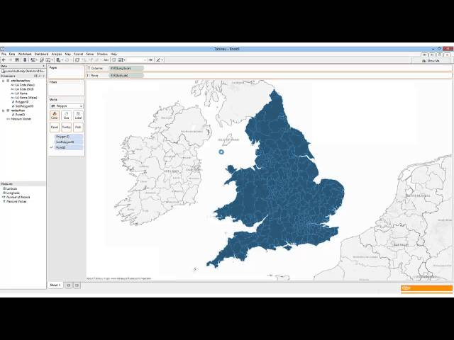 How to map geographies in Tableau that are not built in to the ...