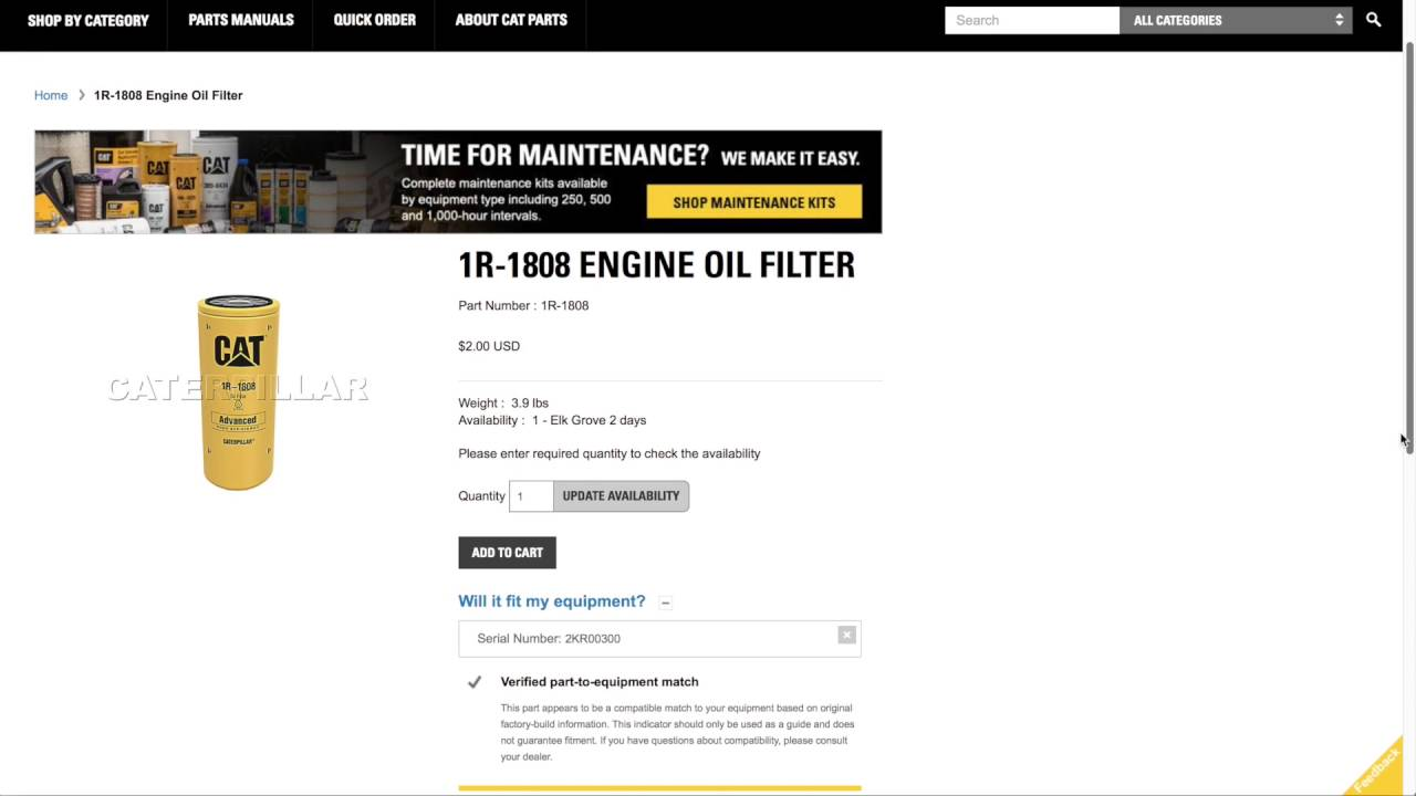 how to find cat parts on parts cat com using parts manuals youtube rh youtube com Caerpillar 3608 Crankshaft Cat 3606