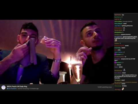 Ice & Tracksuit Andy at a High Class Japanese Restaurant (VOD with chat) [07/21/2017]