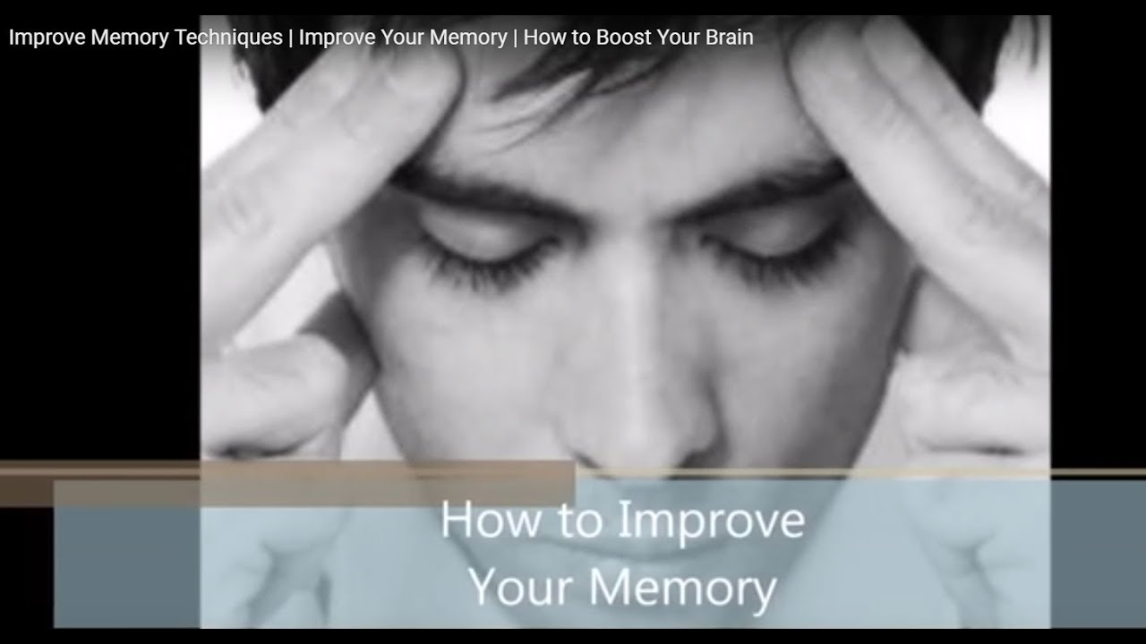 improving your memory Improving your memory myth: most people remember fewer than 10% of the names of people that they meet fact: we remember the face, but we have made no real connection between the face and name.