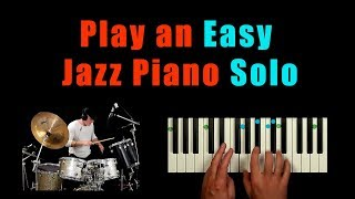 Learn to play a simple funk jazz solo