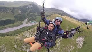 04092019 ParaTourYes gudauriparagliding полет гудаури بالمظلات جورجيا بالمظلات