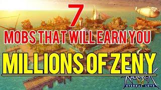7 Mobs to earn you millions of zeny in Ragnarok M: Eternal Love Sea