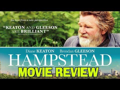 HAMPSTEAD - Movie Review (Brendan Gleeson & Diane Keaton)