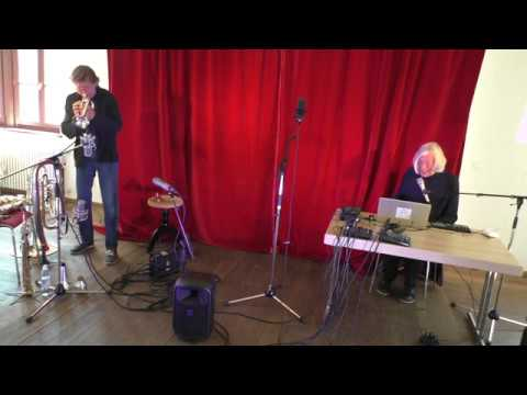 Udo Schindler und Jaap Blonk in Herrsching - Improvisation 4