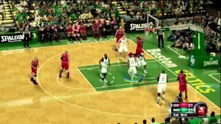 NBA 2K12 Derrick Rose Dunk (HD PVR Test)