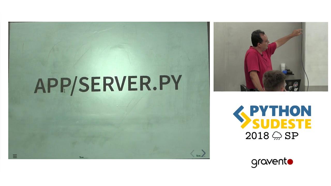 Image from [PySE 2018] CherryPy - um framework simples, sólido e eficiente