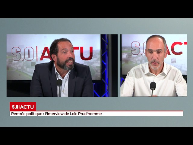 SO invité   Rentrée politique  l'interview de Loïc Prud'homme