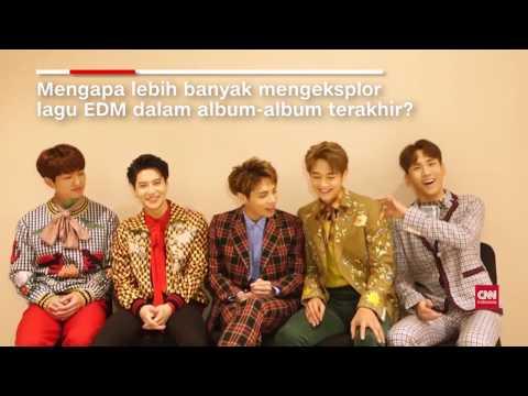 Jakarta Concert SHINee Interview - 161114 CNN Indonesia