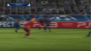 PES 2012 - Barcelona vs Trabzonspor - UEFA Champions League