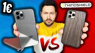 Coque 1€ VS Coque RhinoShield !