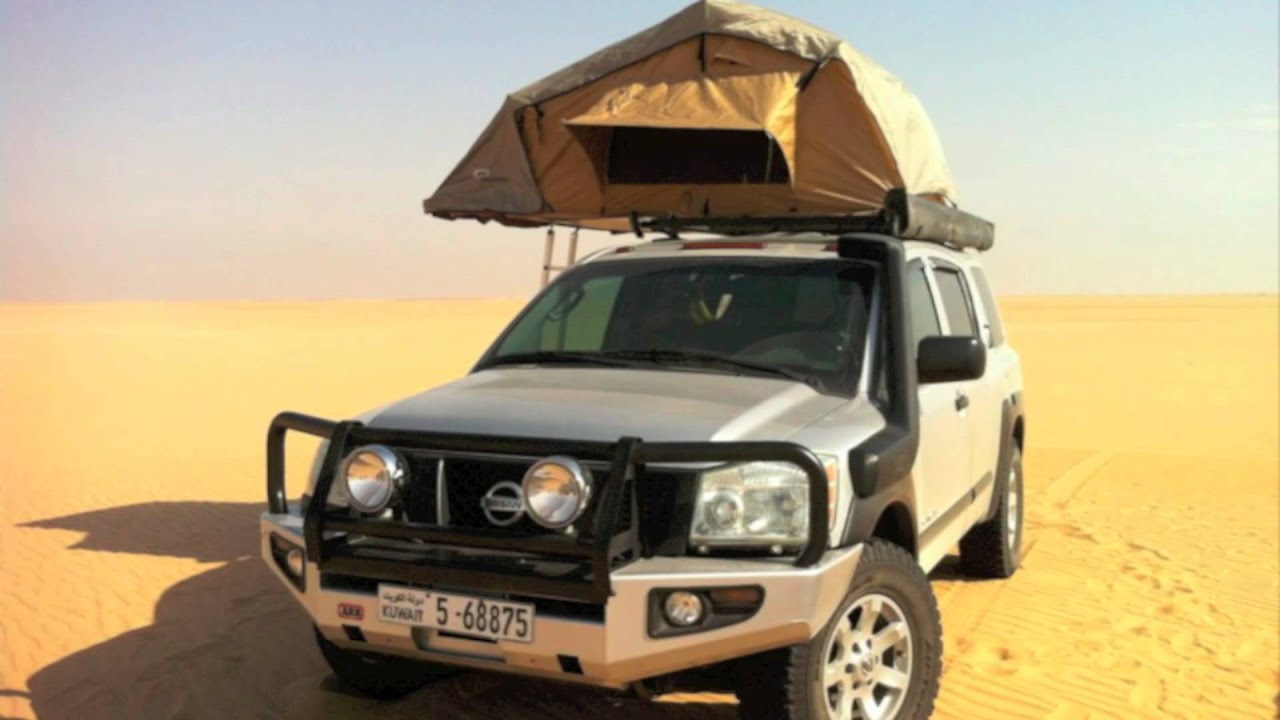 Nissan Titan Accessories >> NISSAN ARMADA OFF ROAD PICTURES عرض صور نيسان أرمادا - YouTube