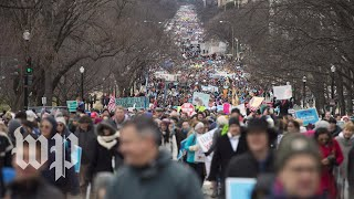 Antiabortion activists gather for the March for Life