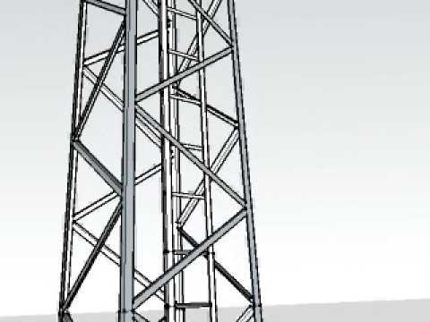 torre de iluminaciÓn.avi - youtube