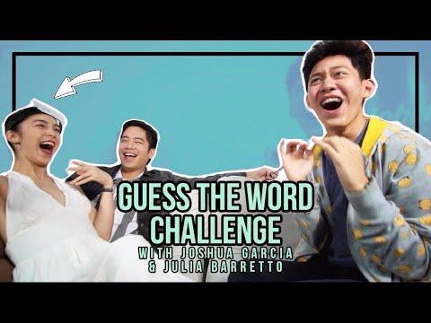 JOSHLIA GUESS THE WORD CHALLENGE! || Acy De Castro