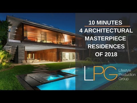 Stunning Miami Architectural Homes : Must-See Mega Video -- Lifestyle Production Group