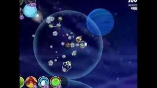 Angry Birds Space - Solar System. Level 10-11 Neptune. 3 stars