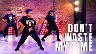 USHER -DON'T WASTE MY TIME (FEAT. ELLA MAI) CLASS CHOREOGRAPHY