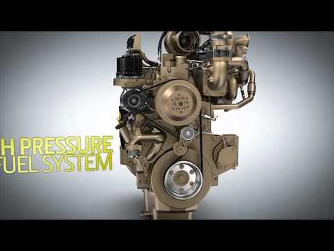 John Deere engines with DPF and SCR - TIER IV or Stage IV