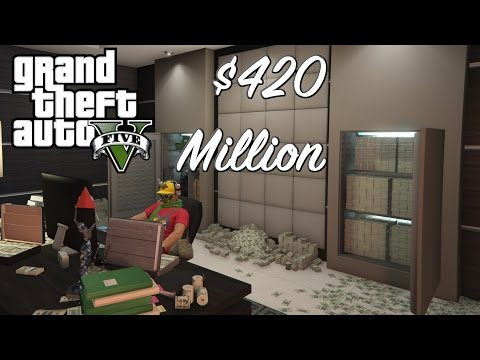 HOW TO SPEND $420 MILLION - GTA 5 Garage Tour