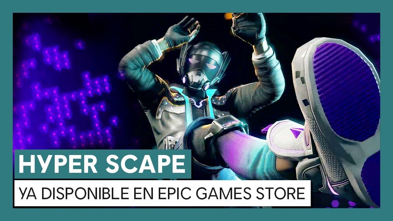 Hyper Scape -Tráiler de lanzamiento en Epic Games Store