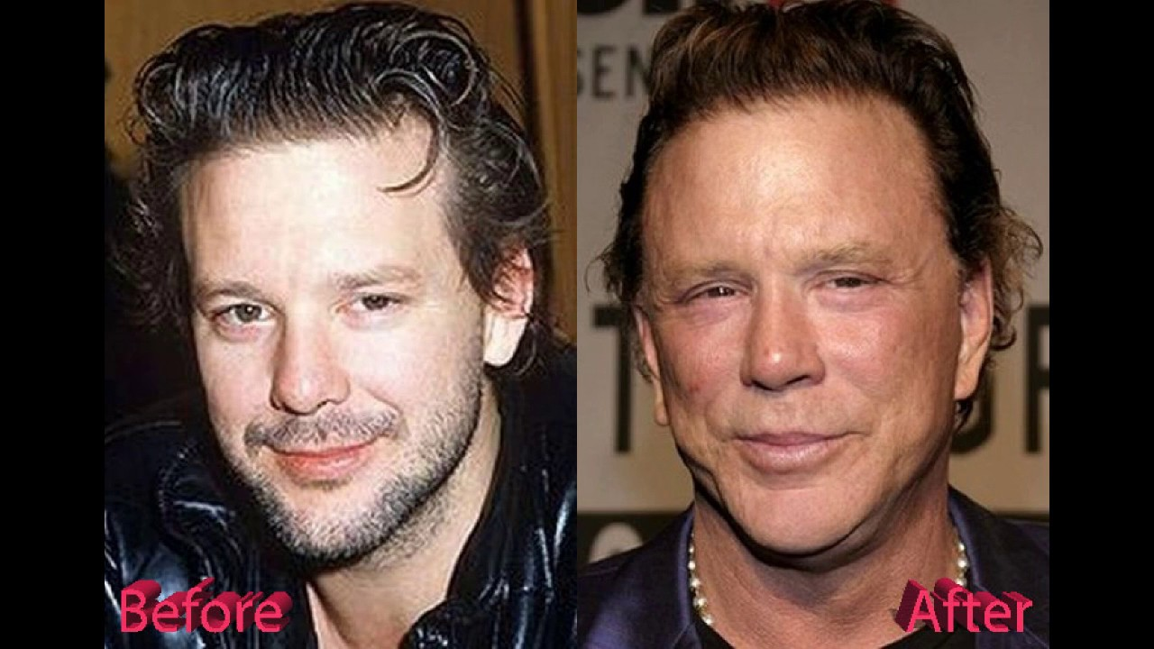 mickey rourke jung