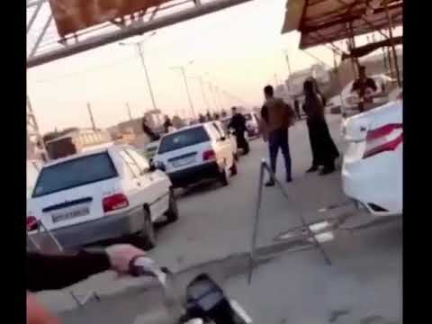 🎥🔥فیلمی از گسیل نیروهای امنیتی به ملاشیه اهواز روز چهارشنبه ۴ دی ۹۸