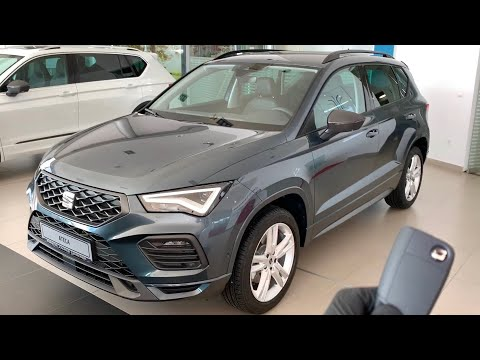 New SEAT ATECA 2021 (Facelift) FIRST LOOK exterior & interior (FR Trim)