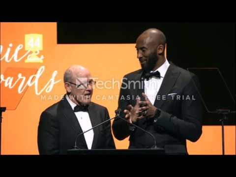 NEW Kobe Bryant 2017 Annie Awards Feb. 4 talks Mamba face, ''Dear Basketball'', animation