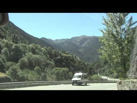 Encamp - Road to Andorra La Vella