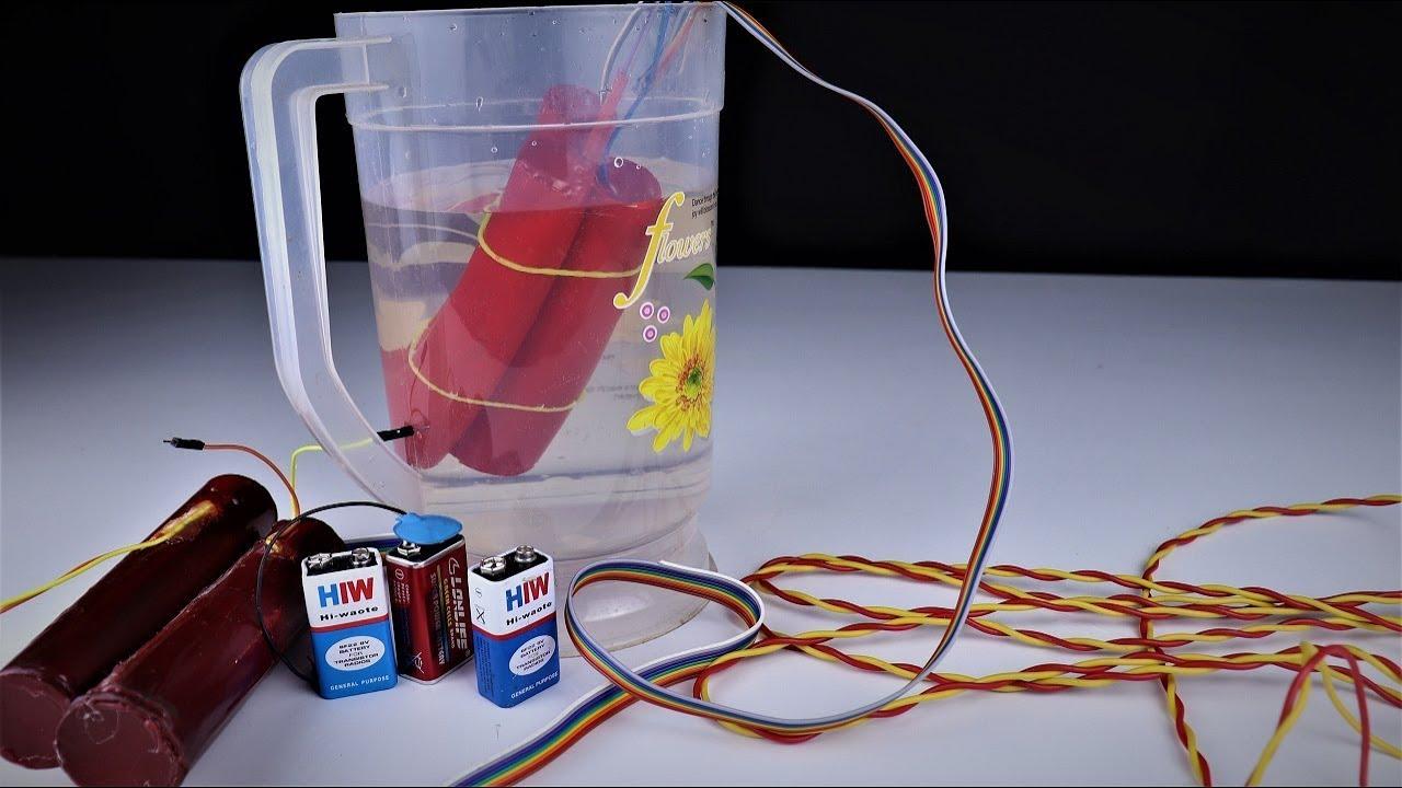 How to Make an Underwater fire Cracker. |DIY.