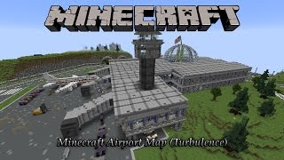 "Minecraft Incredible Airport Map! (Hunger Games Map Download ""Turbulence"")"