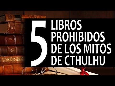 5 libros prohibidos de los mitos de Cthulhu