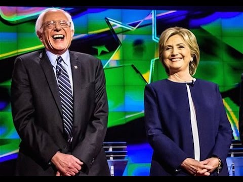 Bernie Sanders and Hillary Clinton, From YouTubeVideos
