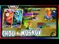Chou + Moskov (W?r??t?) | Mobile Legends | Mythical Glory Perfect Chou Gameplay #14