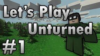 Unturned Survival Online Multiplayer Co Op Let S Play