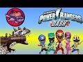 T REX GAMES FOR KIDS: Miami Rex + Power Ranger Dash |Newbie Gaming