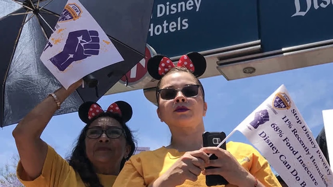 Disney heiress Abigail Disney says she was 'livid' about worker conditions at theme park after going undercover