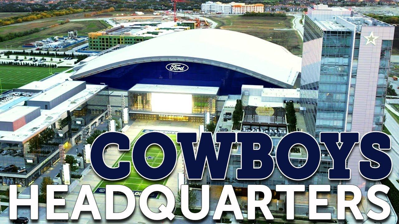 A Tour of the Dallas Cowboys Headquarters in Frisco, TX