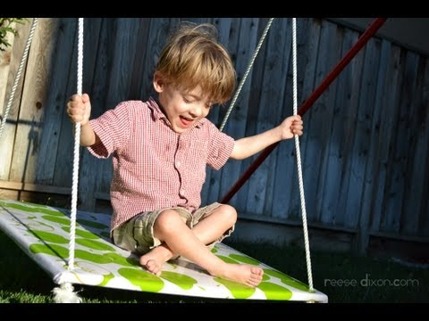 How to Build a Portable Swingset