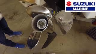 Suzuki 140 HP Change Propeller
