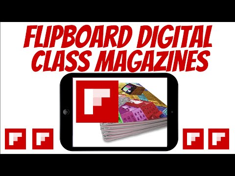 Technology Integration: Flipboard Class Magazine