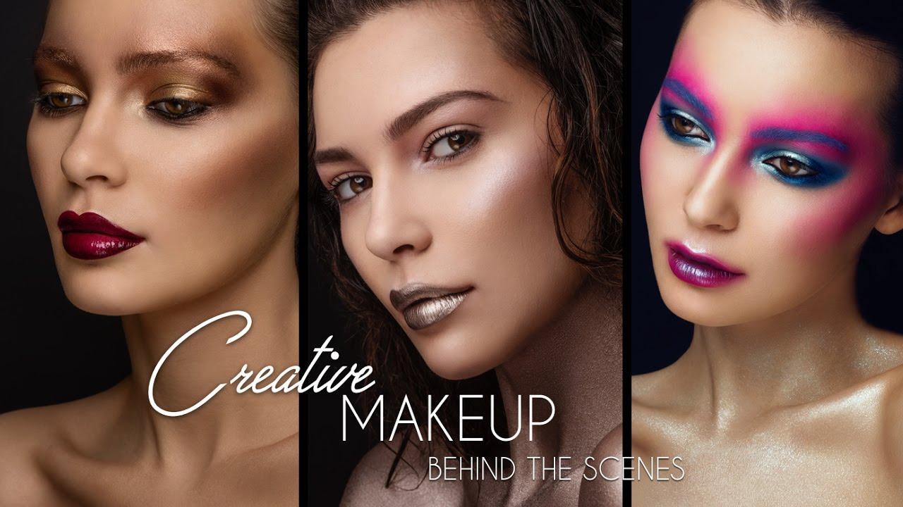 Creative Beauty Make-Up Behind The Scenes | Beauty Shoot | Shonagh Scott | ShowMe MakeUp