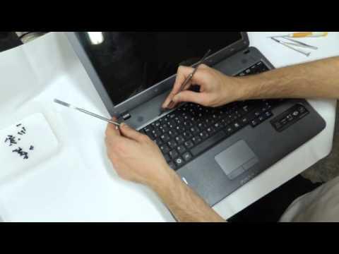 Инструкция по замене клавиатуры ноутбука Samsung R525 - YouTube