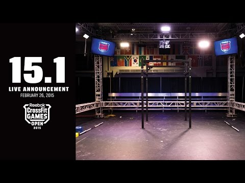 Live Announcement of Open Workout 15.1