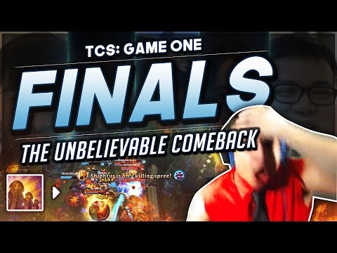 Shiphtur   TCS GRAND FINALS! THE GREATEST COMEBACK IN LEAGUE OF LEGENDS HISTORY! ft. MEME TEAM thumbnail