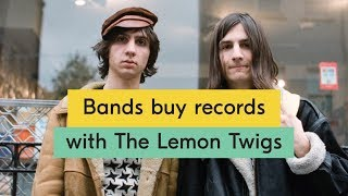 The Lemon Twigs - Bands Buy Records Episode 09
