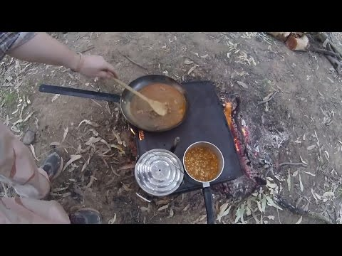 Camping on the Ovens River with Combat Rations April 1st to 3rd 2017 (Part 1)